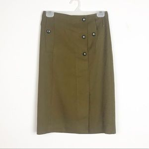 Anthropologie Trench Coat Skirt by Cartonnier 2